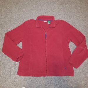 L.L Bean Full Zip Fleece Sweater